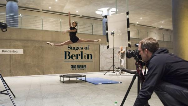 """Fotoproduktion """"Stages of Berlin - Kalender 2016"""" von Gero Breloer. Fotos: Gero Breloer/ www.breloer.com"""