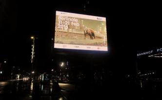 Berlinale 2016. Plakat am Potsdamer Platz. Copyright: Susanne Gietl