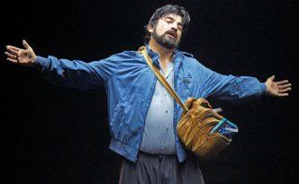 """Pablo Larraíns """"Acceso"""". Copyright: Schaubühne / Sergio Armstrong"""