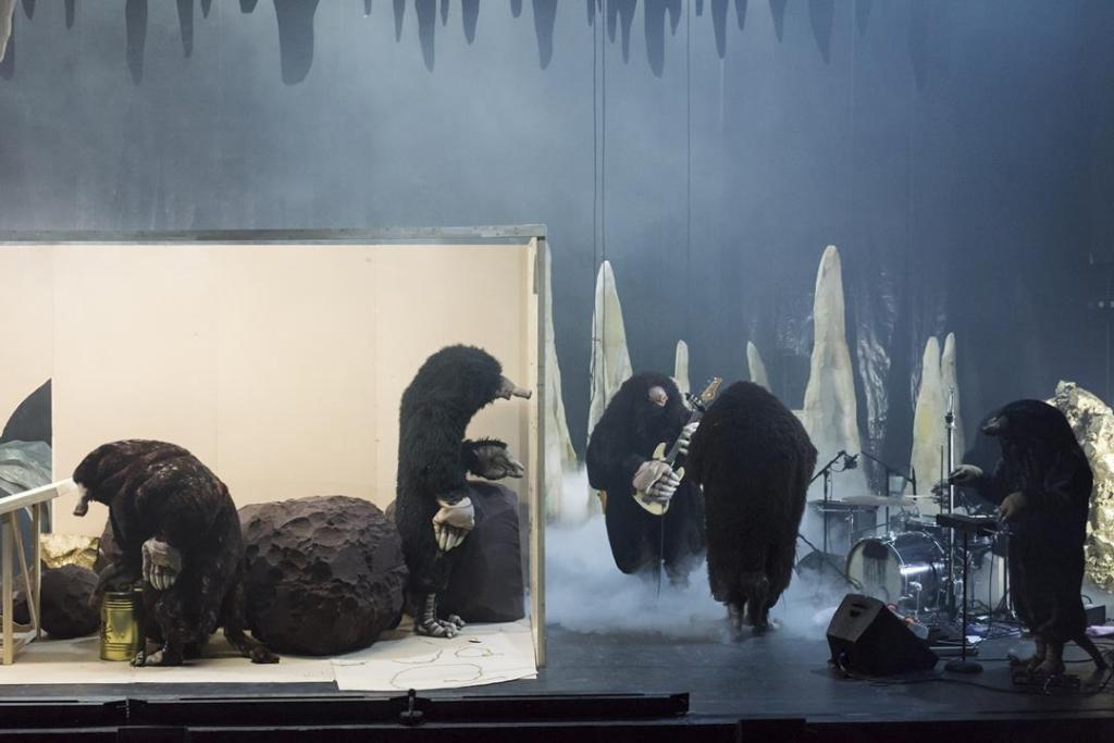 Philippe Quesne: Die Nacht der Maulwürfe. Foto; Hebbel am Ufer